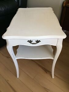 Antique French Provincial Nightstand / End Table / Side Table