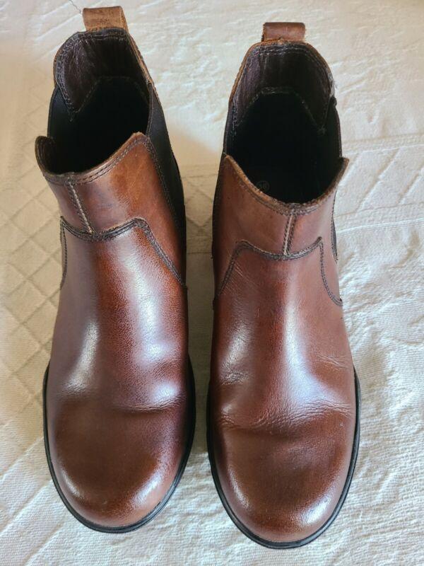 Smartpak Ada Chelsea Paddock Ankle Boot Ladies Size 38 Brown