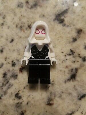 NEW! LEGO Marvel GHOST SPIDER Minifigure Spider-Gwen (76115) Super Heroes!