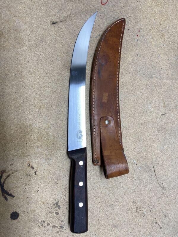 """NEAR MINT COND-  R.H Forschner Co FIX BLADE Knife 17"""" Victorinox Switzerland"""