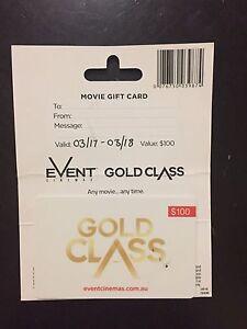 $100 Gold Class voucher Strathpine Pine Rivers Area Preview