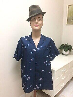 1970s Men's Shirt Styles – Vintage 70s Shirts for Guys Original Vintage Men's 70s Shirt Top, Abstract, Bisley Retro Shirt, Polyester $26.11 AT vintagedancer.com