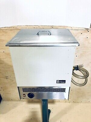 Sonicor Ultrasonic Cleaner 10 Gallons 38l Timer Heat Parts Cleaner Sc-650th