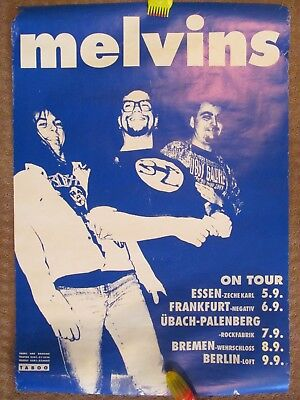 THE MELVINS Concert Poster Germany 1992 - RARE