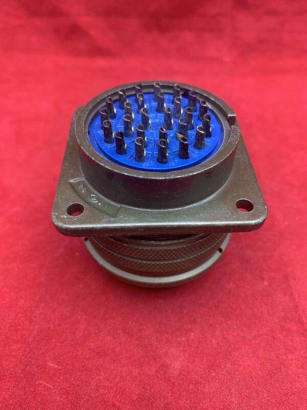 Amphenol # 97-3102A-28-12S 35 pin Female Circular connector