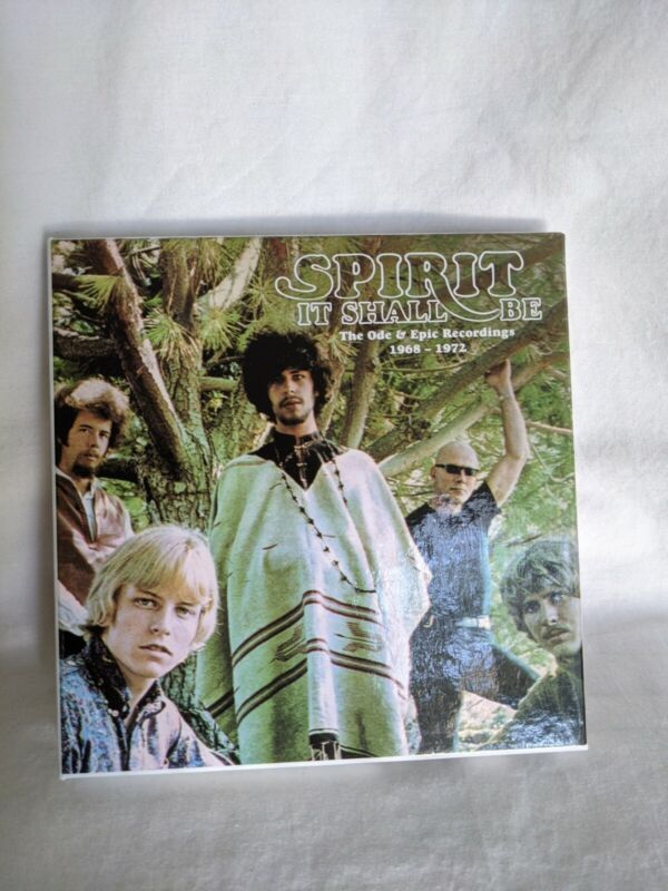 Spirit - It Shall Be: Ode & Epic Recordings 1968-1972 [Used Very Good CD] Boxed