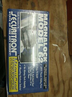 Securitron M62fg Magnalock 1200 Lbs 1224vdc Conduit Face Mount Assa Abloy Mag L