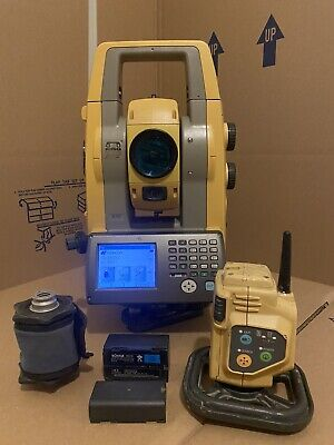 Topcon Ps103as Robotic Total Station With Rc5 Radio Ps-103 As