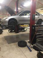 Muffler repair/welding service