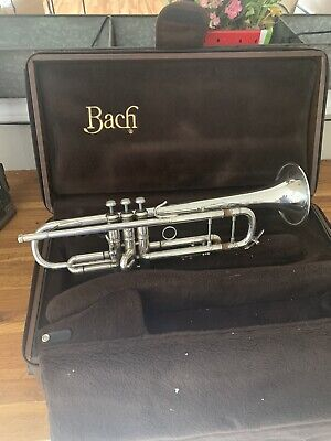 Bach Stradivarius Trumpet  72L Bell Large Bore with case