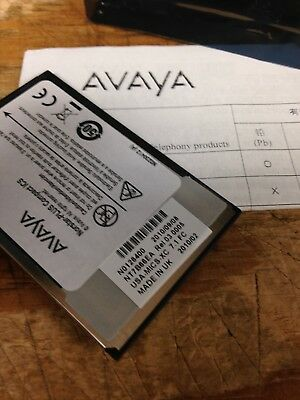 Avayanortel Norstar Mics Xc 7.1 Software Card Nt7b66ea Free Freight New