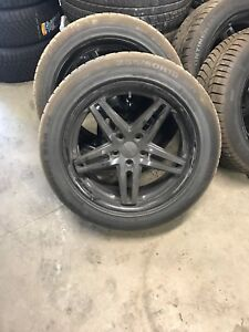 BMW X5 winter wheels and tires