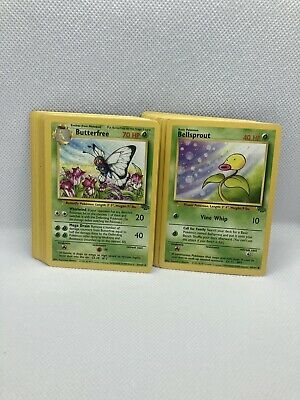 Complete Jungle Set Commons And Uncommons NM-Mint Vintage Pokemon Cards