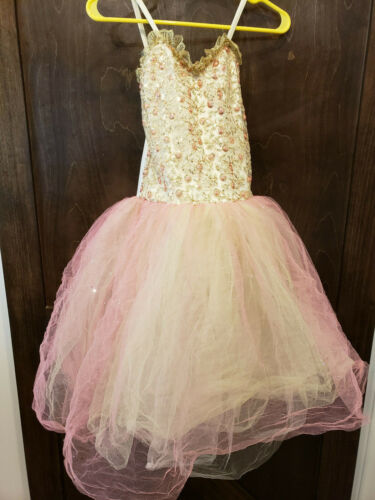 Girls LARGE Costume Photo Dress Up Three layers of Tulle (Lot525)