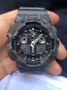 Grey camo gshock great condition Beverly Hills Hurstville Area Preview