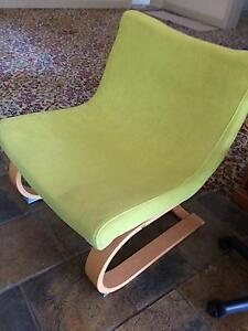 Lime Green Funky Ikea Chair Kensington Melbourne City Preview