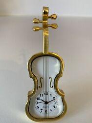 Miniature Bulova Cello Table Clock