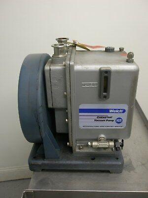 Welch 1402n Vacuum Pump 12hp Emerson Motor