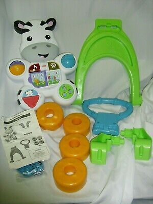 Fisher- Learn With Me Zebra Baby Walker Toddler