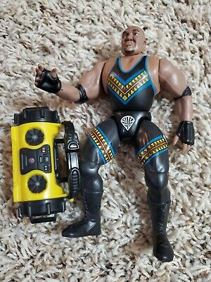 WWF WWE King of The Ring D'Lo Brown Action Figure!! Loose Mint!!