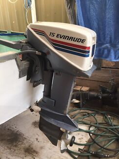 15hp outboard motor Hallett Cove Marion Area Preview