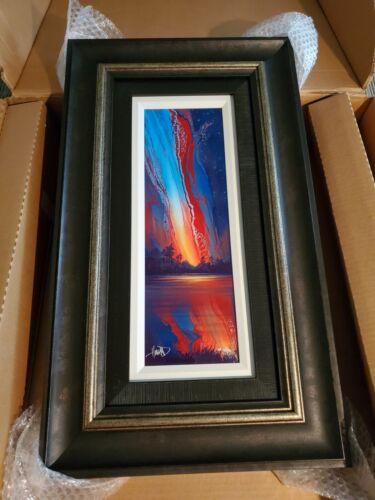 Ashton Howard Painting (Sunburst ) Digital Dye Sublimation Signed & HC #42/90