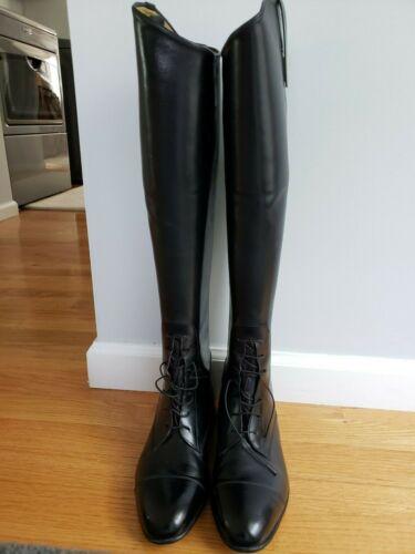 Tall Black Field Boots