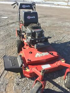 "Exmark Metro walk behind lawn mower 32""maybe 25hrs!!"