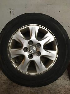 4 mags Toyota Camry with tires