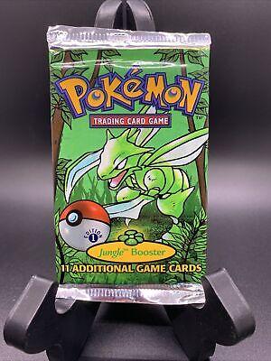Pokemon 1st Edition Jungle Booster Card Pack - Sealed - Crisp!!