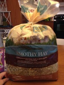 Foin Timothy Hay Living World pour lapin cochon d'Inde hamsters