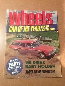 Do you have an old car, want the Magazine to suit, I may have it West Moonah Glenorchy Area Preview