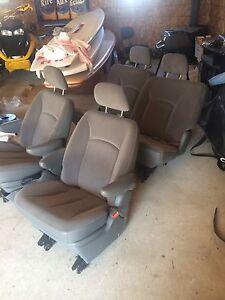 Chev van seats like new