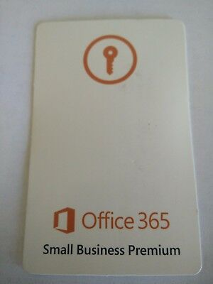 Microsoft Office 365 Small Business Premium  Now Business Premium    1Yr 5User