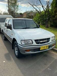 2001 Holden Rodeo Lt 5 Sp Manual Crew Cab P/up