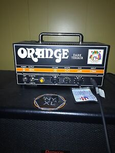 Orange Dark Terror 15 watt single channel amp w/ soft case
