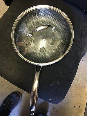 "Hexclad 11""inch pan and Lid  LOOK"