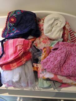 Girls clothing bundle size 2 spring summer
