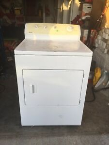 White dryer in working condition