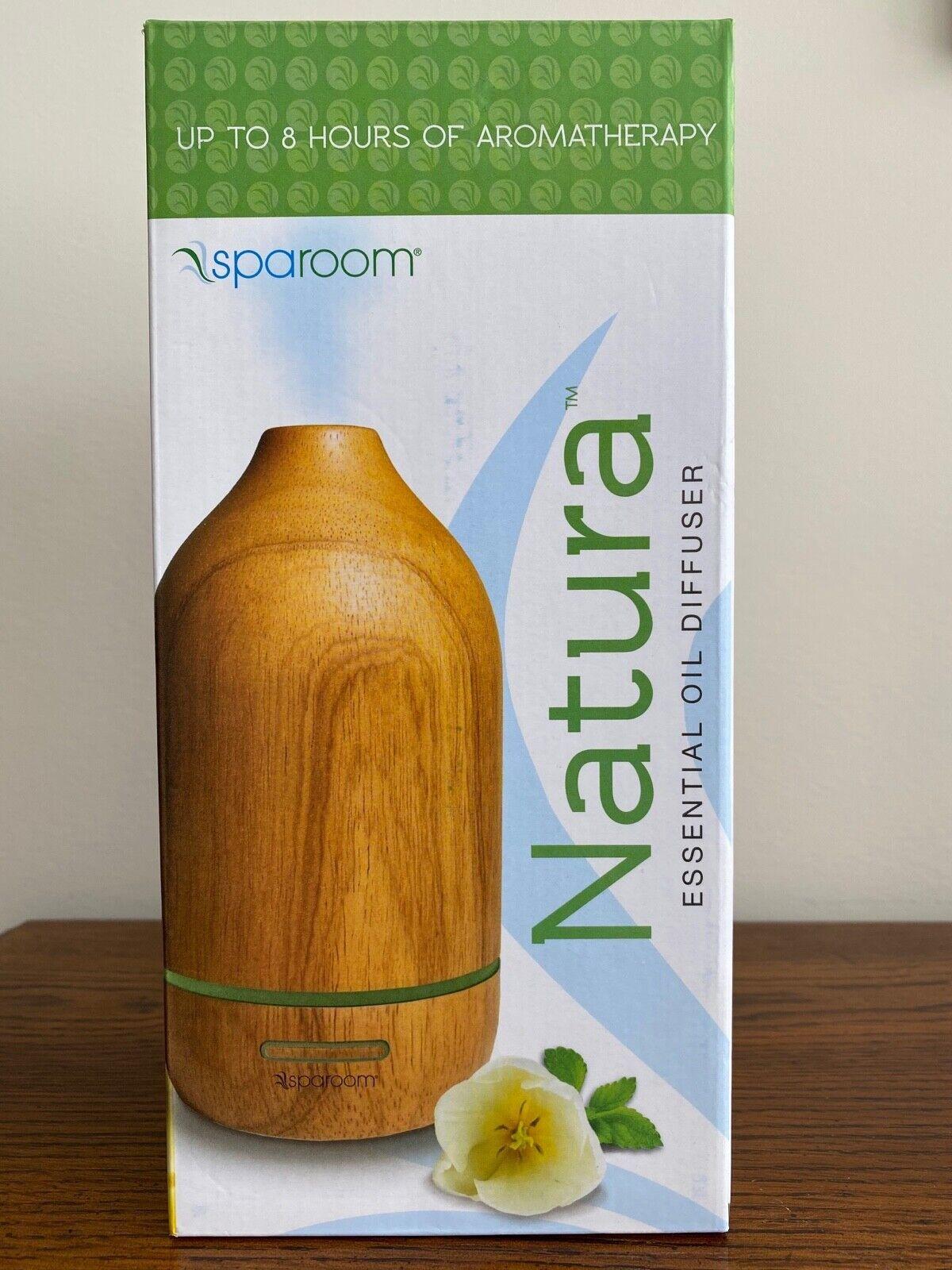 SpaRoom Natura Wooden Essential Oil Diffuser For Therapeutic