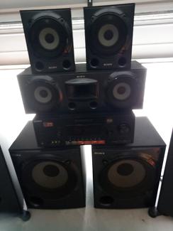 Sony mu-te-ki  surround sound