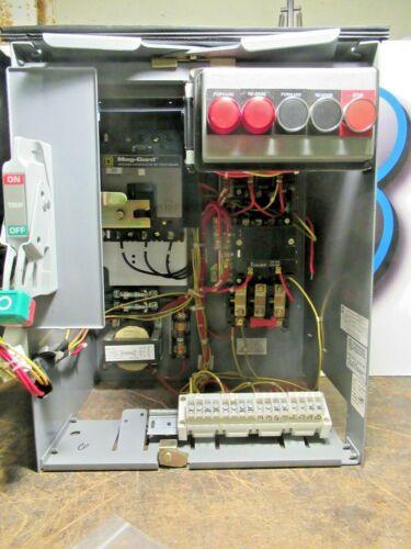 """Square D Model 6, SIZE 1 Reversing, 30 Amp FHP Breaker, 18"""", MCC Bucket -MC118"""