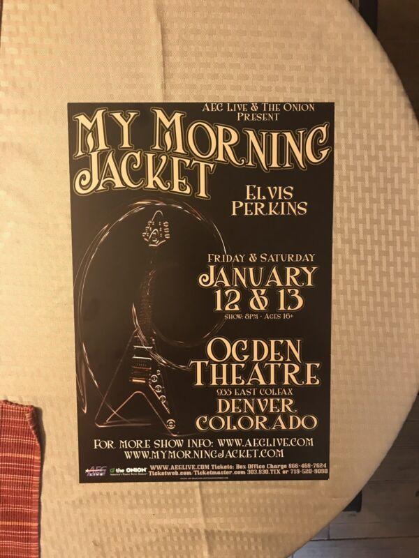 Original My Morning Jacket 2006 Concert Poster RARE