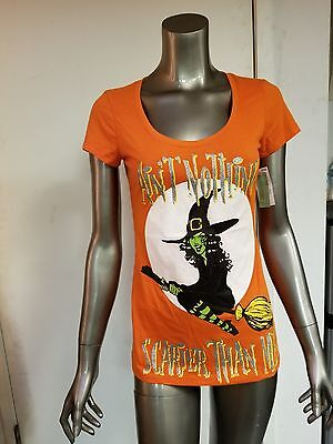 new womens halloween ain't nothing scarier than me t-shirt - Scarier Than Halloween