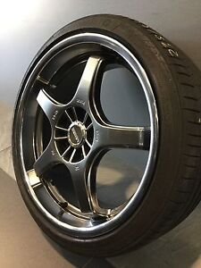 """LENSO GT-05 19"""" ALLOY WHEELS AND TYRES Carramar Fairfield Area Preview"""