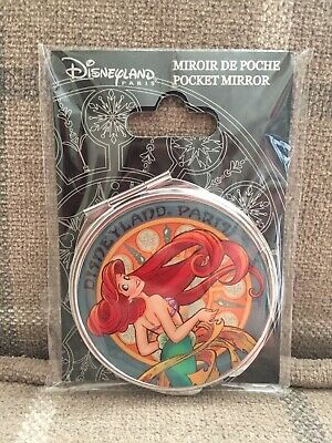 Disneyland Paris Princess Ariel Pocket Mirror BRAND NEW CUTE