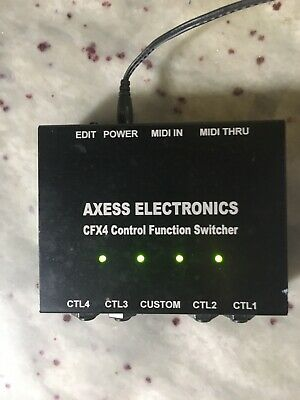 Axess Electronics CFX4 Control Function Switcher
