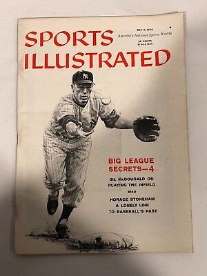 May 5, 1958 Gil McDougald Yankee Sports Illustrated NO LABEL NEWSSTAND