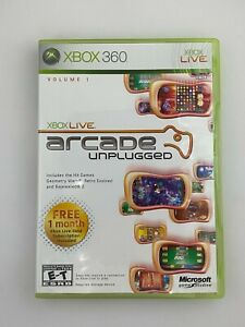 Xbox Live Arcade Unplugged Vol. 1 - Xbox 360 Game - Complete & Tested