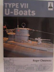 Book: Type VII U-Boats (Shipcraft 4) - Great Illustrations